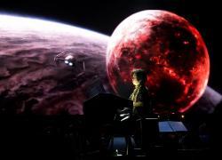 Adi Utarini playing Star Wars